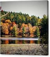 Fall At Bass Lake Canvas Print