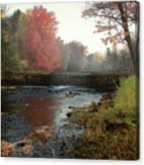 Fall at Griffin Mill Canvas Print