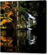Fall At The Falls Canvas Print