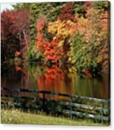 Fall At The Farm Canvas Print