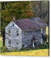 Fall At The Forgotten Farmhouse Canvas Print