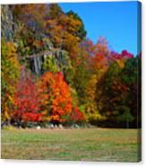 Fall At The Hook Canvas Print