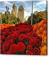 Fall At The Peabody Canvas Print