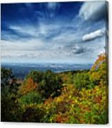 Fall Blue Ridge Parkway Canvas Print