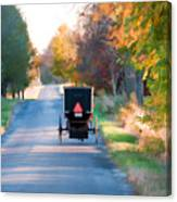 Fall Buggy Canvas Print