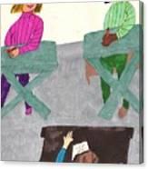 Fall Class Canvas Print