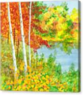 Wisconsin Fall Colors Canvas Print