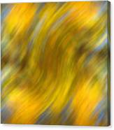 Fall Colors Abstract Canvas Print