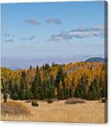 Fall Colors In The Inner Basin Canvas Print