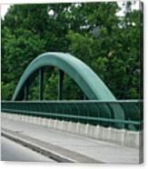 Fall Creek Gorge Bridge Cornell University Ithaca New York Canvas Print