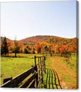 Fall Farm #4 Canvas Print