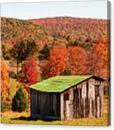 Fall Farm No. 6 Canvas Print
