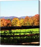 Fall Farm No. 8 Canvas Print
