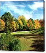 Fall Golf Course Beauty Canvas Print