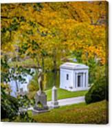 Fall Graves Canvas Print