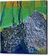 Fall Hiking Trail No 2 Canvas Print