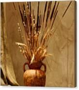 Fall In A Vase Still-life Canvas Print