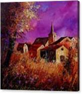 Fall In Ardennes  Canvas Print