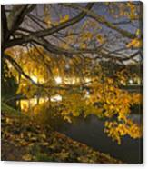 Fall In Dresden Canvas Print