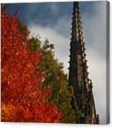 Fall In Garden City Ny. Canvas Print