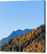 Fall In Gstaad Canvas Print
