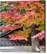 Fall In Japan Canvas Print