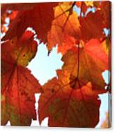 Fall In Love With Autum Canvas Print