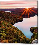 Fall In Northern Vermont Canvas Print
