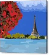 Fall In Paris Canvas Print