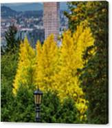 Fall In Portland Or 2 Canvas Print
