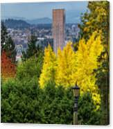 Fall In Portland Or Canvas Print