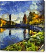 Fall In Riverfront Park Spokane Canvas Print