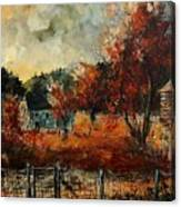 Fall In Vivy Canvas Print
