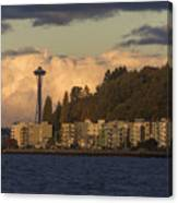 Fall In West Seattle Canvas Print