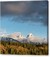 Fall In Wyoming Canvas Print