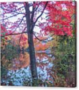 Fall Lagoon Canvas Print