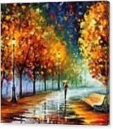 Fall Marathon Canvas Print