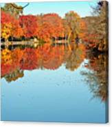 Fall Morning In East Lyme 1 Canvas Print