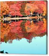 Fall Morning In East Lyme 2 Canvas Print