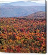 Fall Mountains #3 Canvas Print