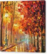 Fall Night Canvas Print