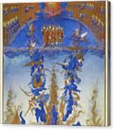 Fall Of Rebel Angels Canvas Print