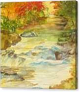 Fall On East Fork River Canvas Print