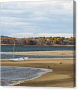 Fall On Plum Island Canvas Print