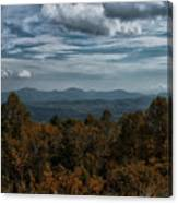 Fall On The All American Road Canvas Print