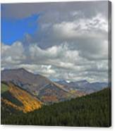 Fall On The Pass Canvas Print