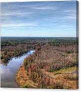 Fall Over Swift Creek Canvas Print