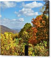 Fall Overlook Canvas Print