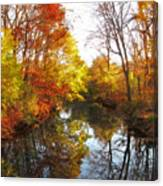 Fall Reflected Canvas Print