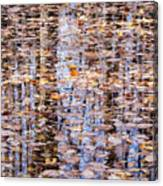 Fall Reflections #1277-4030 Canvas Print